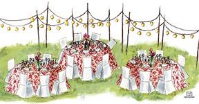 Ilustracion del Catering El Puchero de Plata