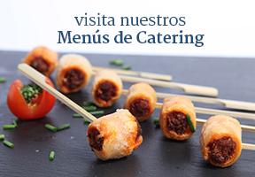 banner de menus de catering