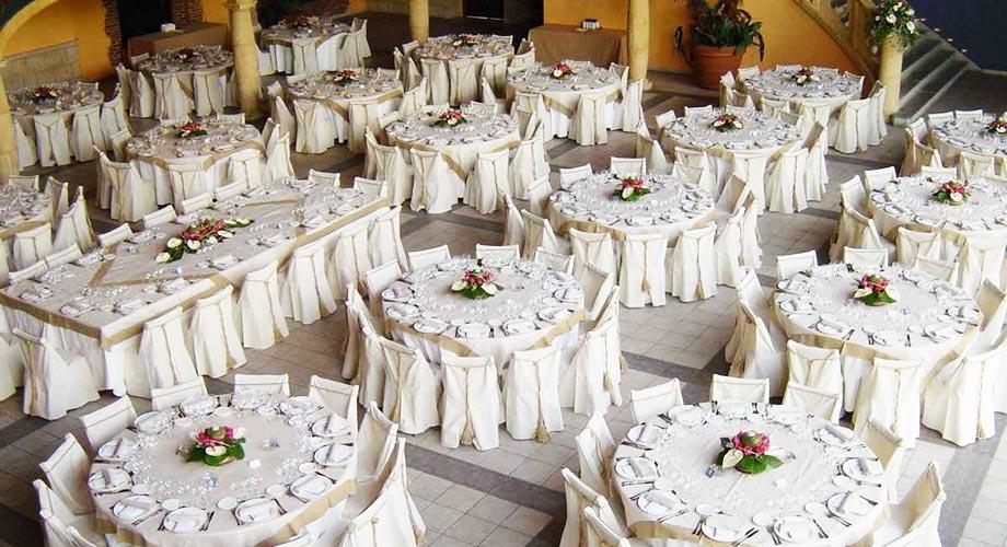 Cu ntas mesas tendr s en tu boda for Mesas de bodas decoradas