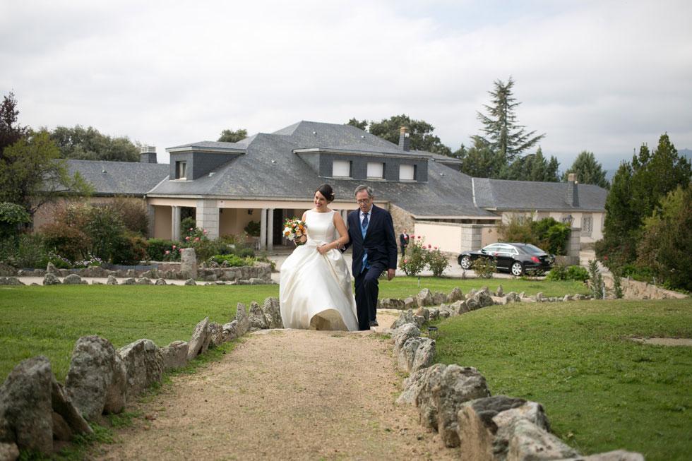 Ana y Nacho boda en El Tomillar
