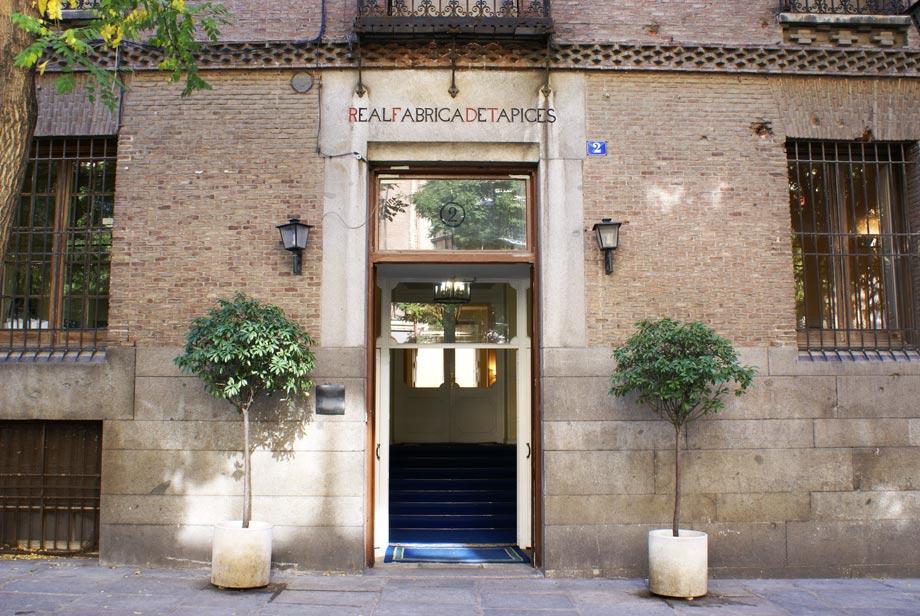 Puerta Real Fábrica de Tapices