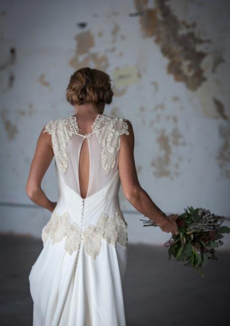 Vestido novia diseño Alonso
