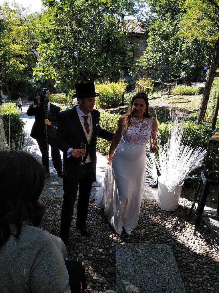 bodas en la real fabrica de tapcies