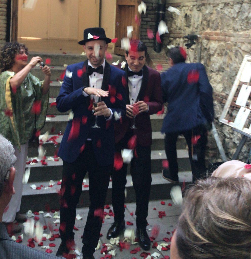 boda real fabrica de tapices